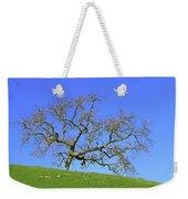 Single Oak Tree Weekender Tote Bag