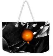 Single Orange Berry Weekender Tote Bag