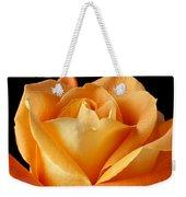 Single Orange Rose Weekender Tote Bag