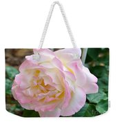 Single Peace Rose Weekender Tote Bag