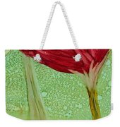 Single Poppy Weekender Tote Bag