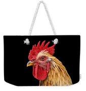 Single Rooster Weekender Tote Bag