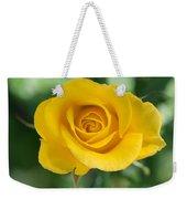 Single Yellow Rose Weekender Tote Bag
