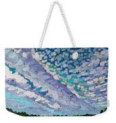 Singleton Altocumulus Morning Weekender Tote Bag
