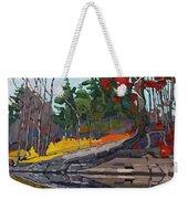 Singleton Autumn Weekender Tote Bag