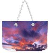 Singular Sunset Weekender Tote Bag