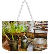 Sink - Eat Your Greens Weekender Tote Bag