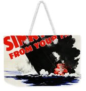 Sink A Sub From Your Farm Weekender Tote Bag