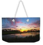 Sink Creek Sunset Weekender Tote Bag