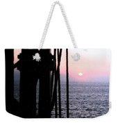 Sinking Sun Weekender Tote Bag