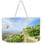 Sintra Castle Aerial Weekender Tote Bag