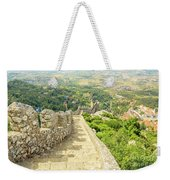 Sintra Moorish Castle Wall Weekender Tote Bag