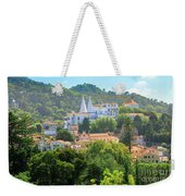 Sintra National Palace Aerial Weekender Tote Bag
