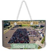 Sioux Falls Rise/shine 2 W/text Weekender Tote Bag