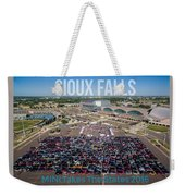 Sioux Falls Rise/shine 3 W/text Weekender Tote Bag