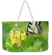 Sipping Swallowtail Weekender Tote Bag