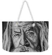 Sir Ian Mckellen As Gandalf The Grey Weekender Tote Bag