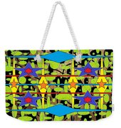 Sir Mbonu Christhe Arts Of Textile Designs #30 Weekender Tote Bag