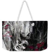 Siren Of The Crimson Forest  Weekender Tote Bag