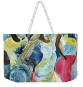 Sister Act Weekender Tote Bag by Ikahl Beckford