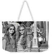 Sisters Out And About Weekender Tote Bag
