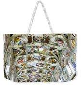 Sistine Chapel Weekender Tote Bag