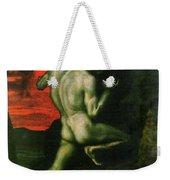 Sisyphus Weekender Tote Bag