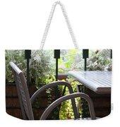 Sit A While Weekender Tote Bag