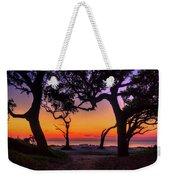 Sit With Me Driftwood Beach Sunrise Jekyll Island Georgia Weekender Tote Bag