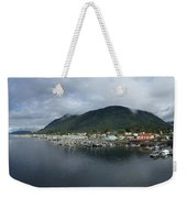 Sitka Alaska From The John O'connell Bridge Is A Cable-stayed Bridge 2015 Weekender Tote Bag