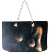 Sitted Female Nude Weekender Tote Bag