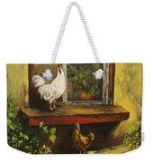 Sittin Chickens Weekender Tote Bag