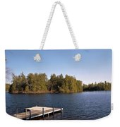 Sittin' On The Dock Weekender Tote Bag