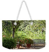 Sitting Along The Path Weekender Tote Bag