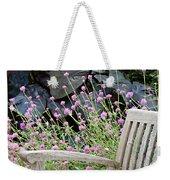 Sitting Amongst A Wildflower Garden Weekender Tote Bag