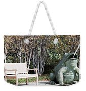 Sitting And Watching The Frog Weekender Tote Bag