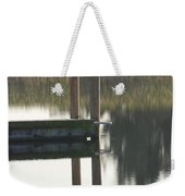 Sitting Bird Weekender Tote Bag