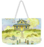 Sitting By The Dock Weekender Tote Bag