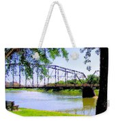 Sitting In Fort Benton Weekender Tote Bag