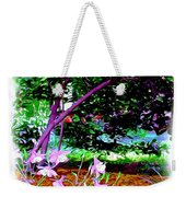 Sitting In The Shade Weekender Tote Bag