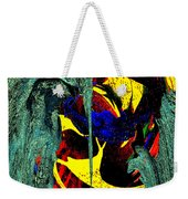 Sitting On The Edge Weekender Tote Bag