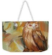 Sitting Owl Weekender Tote Bag
