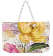 Sitting Pretty Peonies Weekender Tote Bag