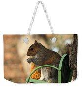 Sitting Squirrel Weekender Tote Bag