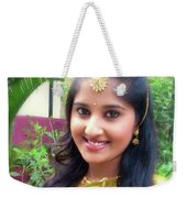 Siva's One And Only Baby Nisha Weekender Tote Bag