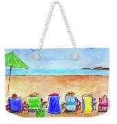 Six Beach Amigos Weekender Tote Bag