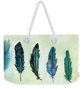 Six Feathers Weekender Tote Bag