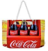Six Pack Of Cokes Weekender Tote Bag