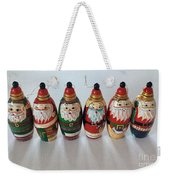Six Russian Santas Weekender Tote Bag