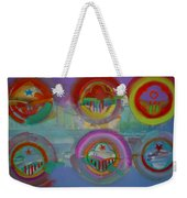 Six Visions Of Heaven Weekender Tote Bag